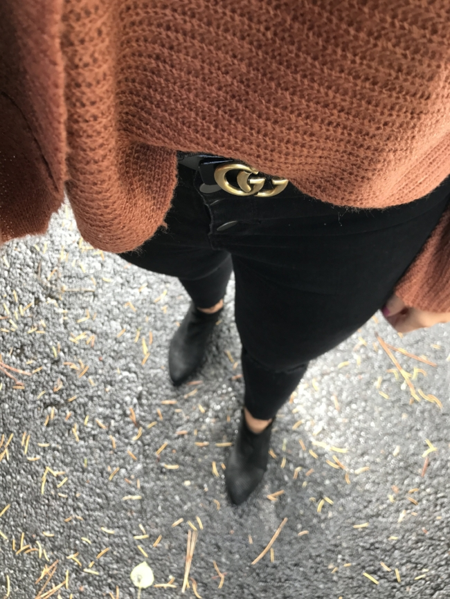 This knock-off Gucci belt is under $20!