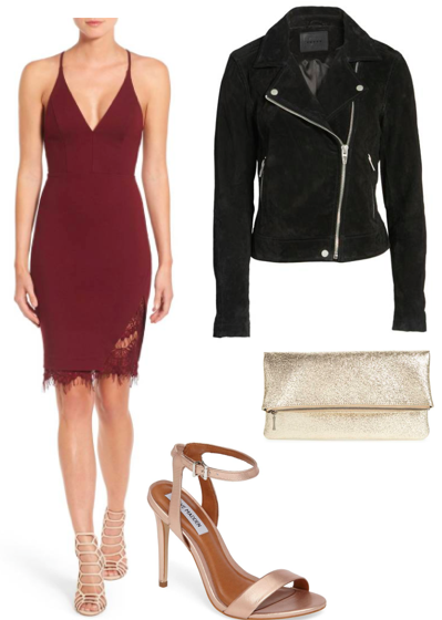 shop //   dress ;  shoes;   clutch ;  jacket