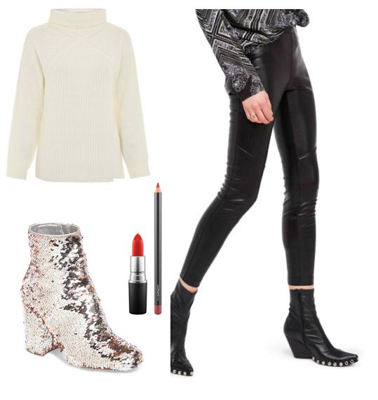 shop //   sweater  ;   shoes  ;   leggings  ;   lipstick