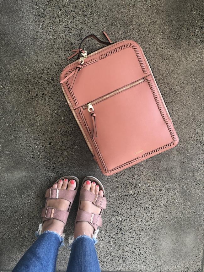 best travel backpack for laptop //  calpak