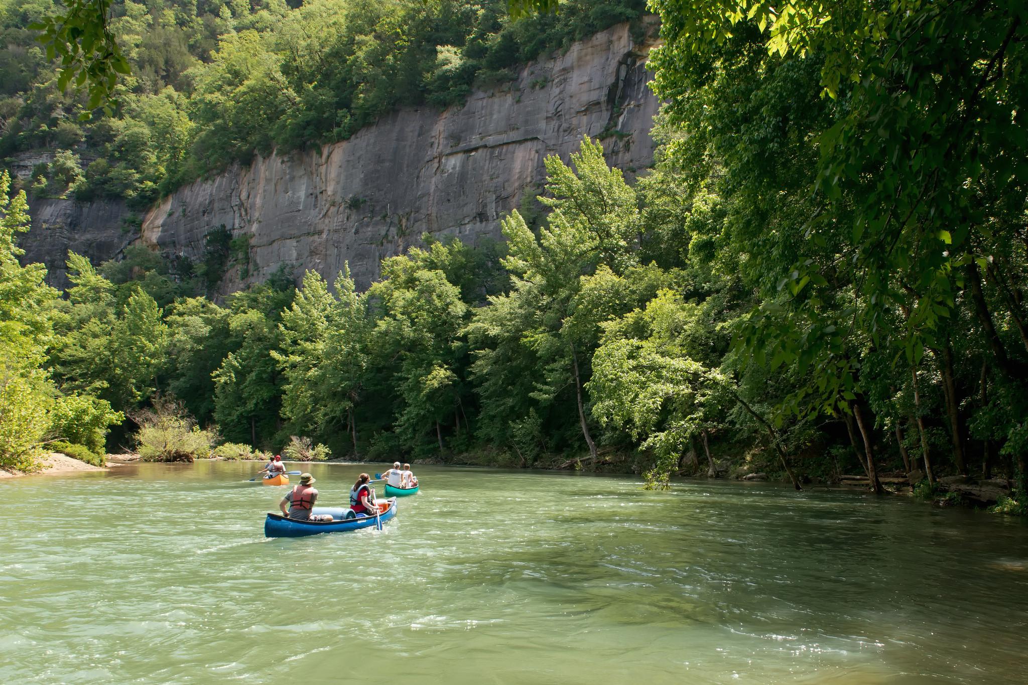 Canoeing the Buffalo River