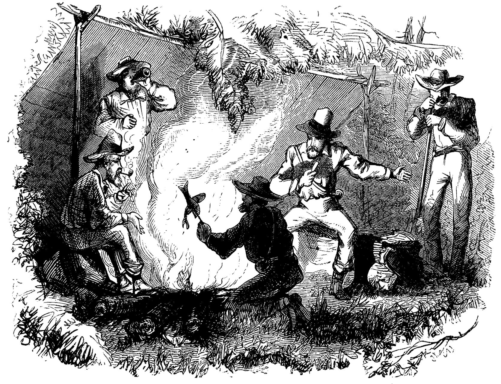 Harper's New Monthly Magazine, February 1860