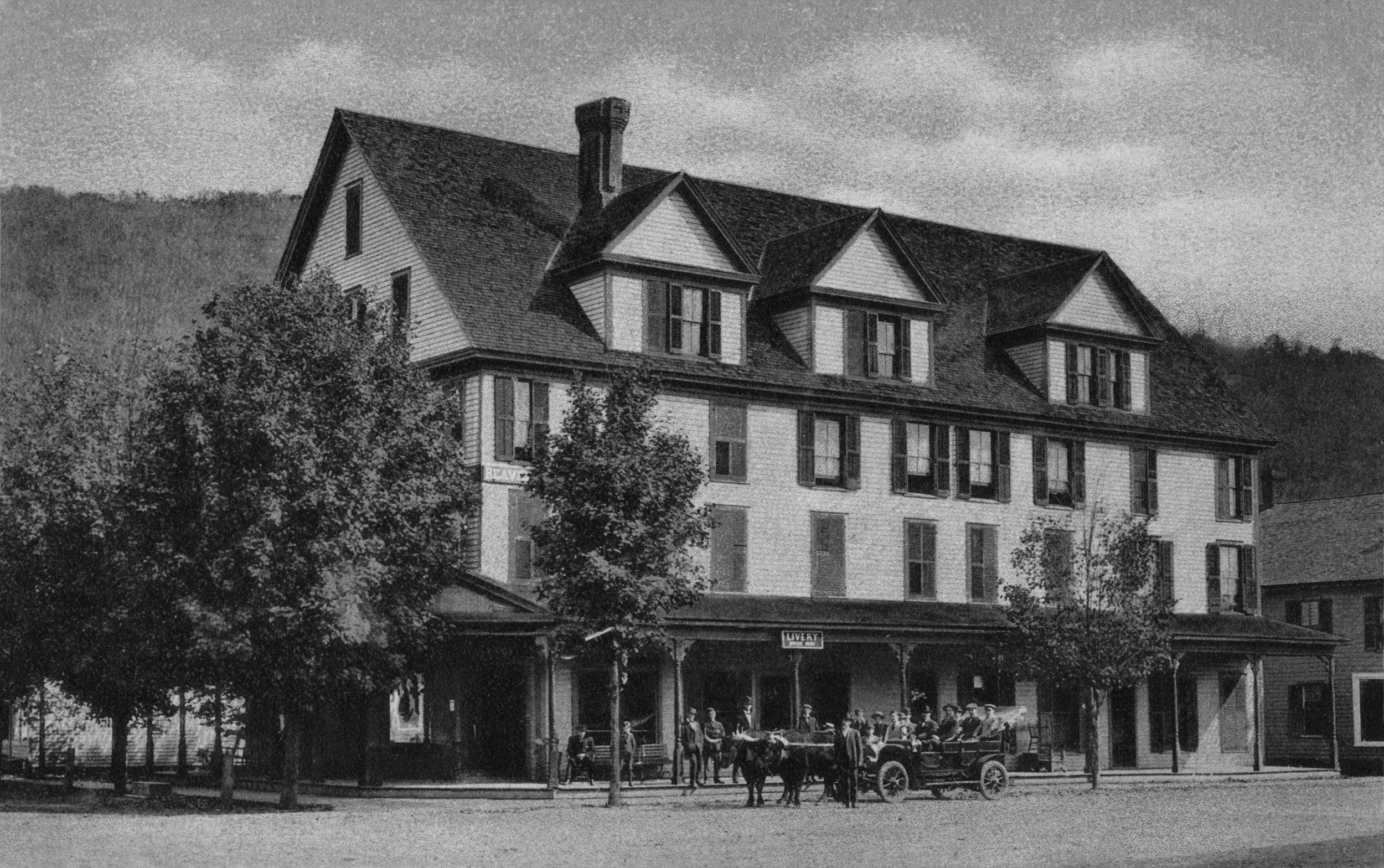 The Beaverkill House courtesy Ed Van Put