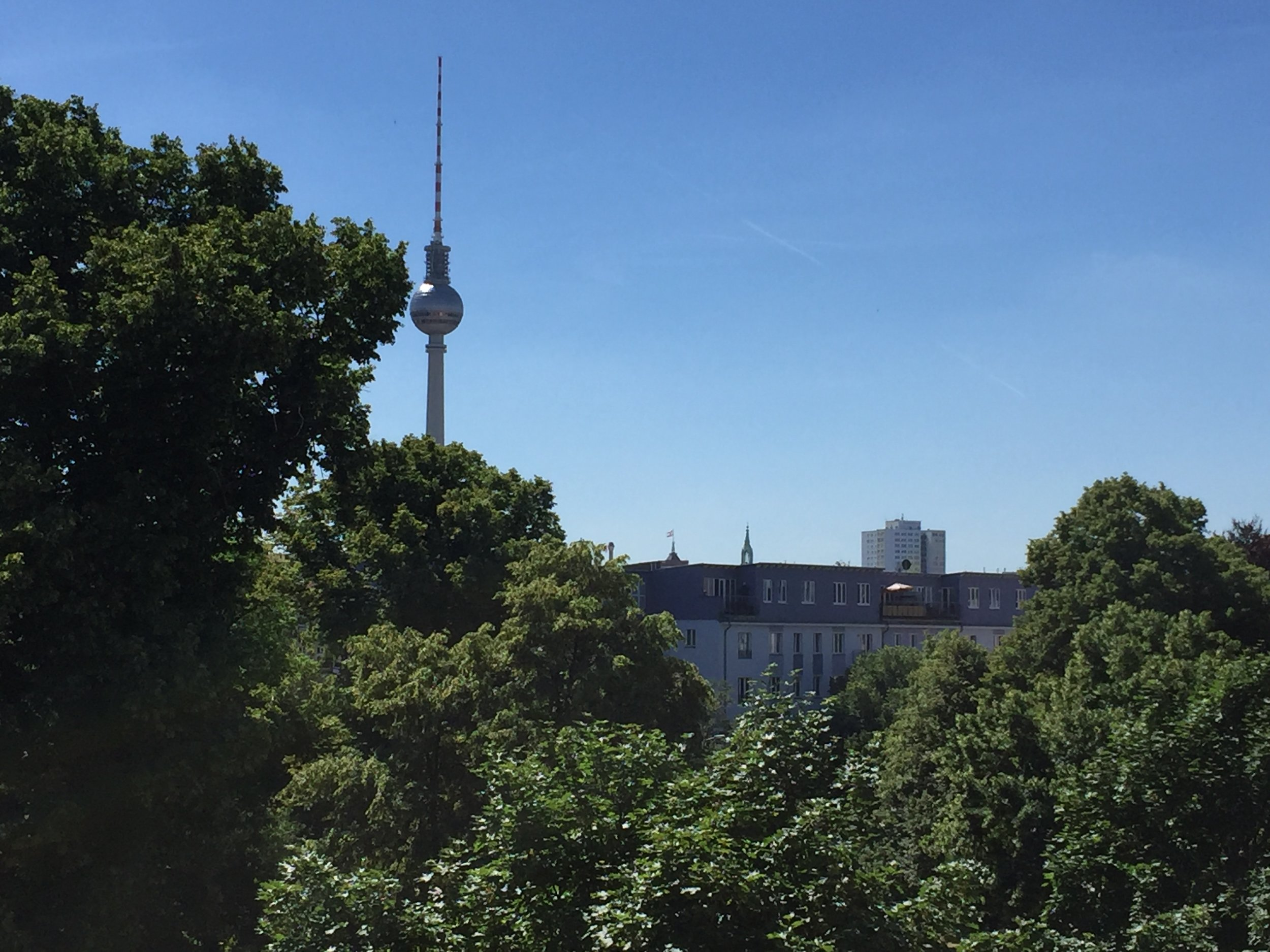 Berlin-Mitte in June.