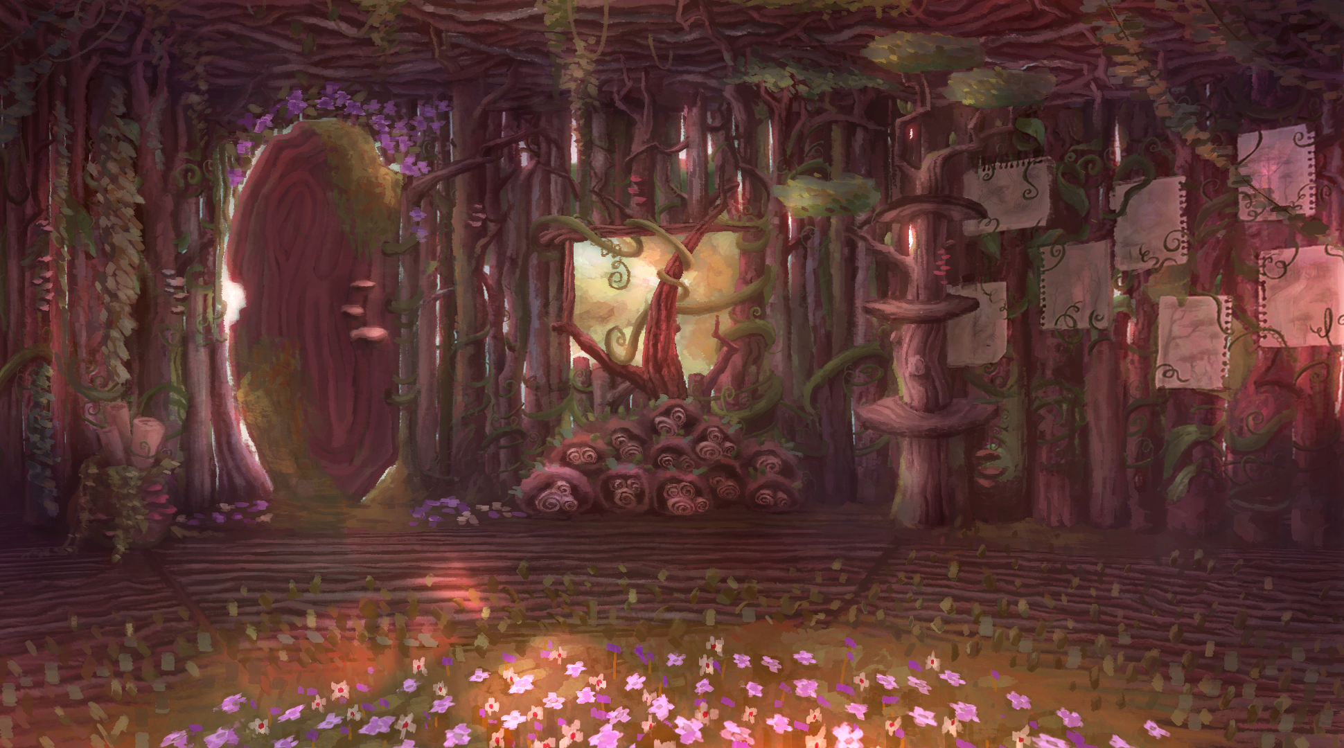Background for an animated short by Morning Noon & Night
