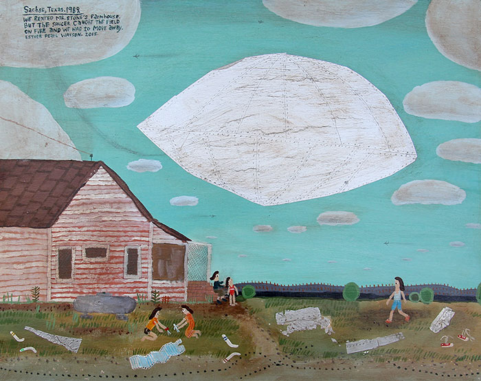 """Mr. Stone's Farmhouse   