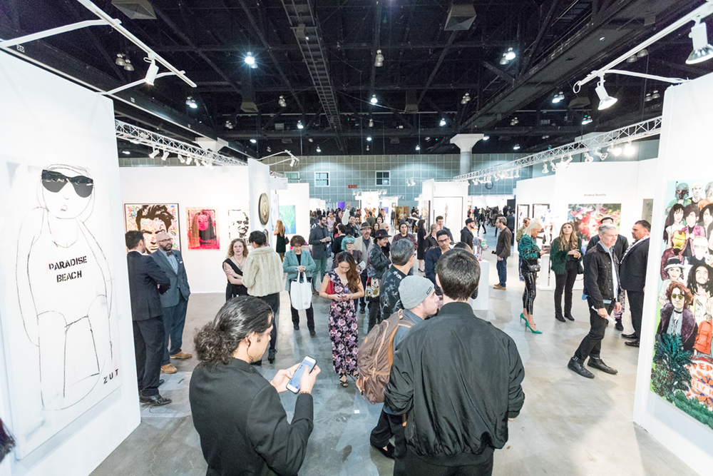 LA Art Show 2018 | Image courtesy Birdman Photos