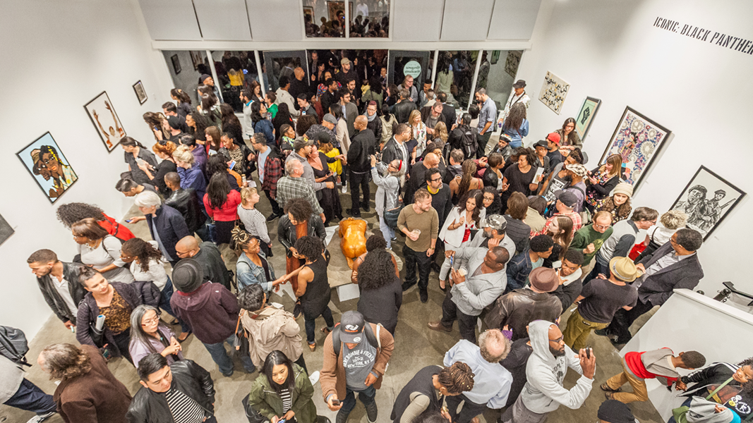 Iconic: Black Panthers Opening Reception at Gregorio Escalante Gallery | Image courtesy Birdman Photos