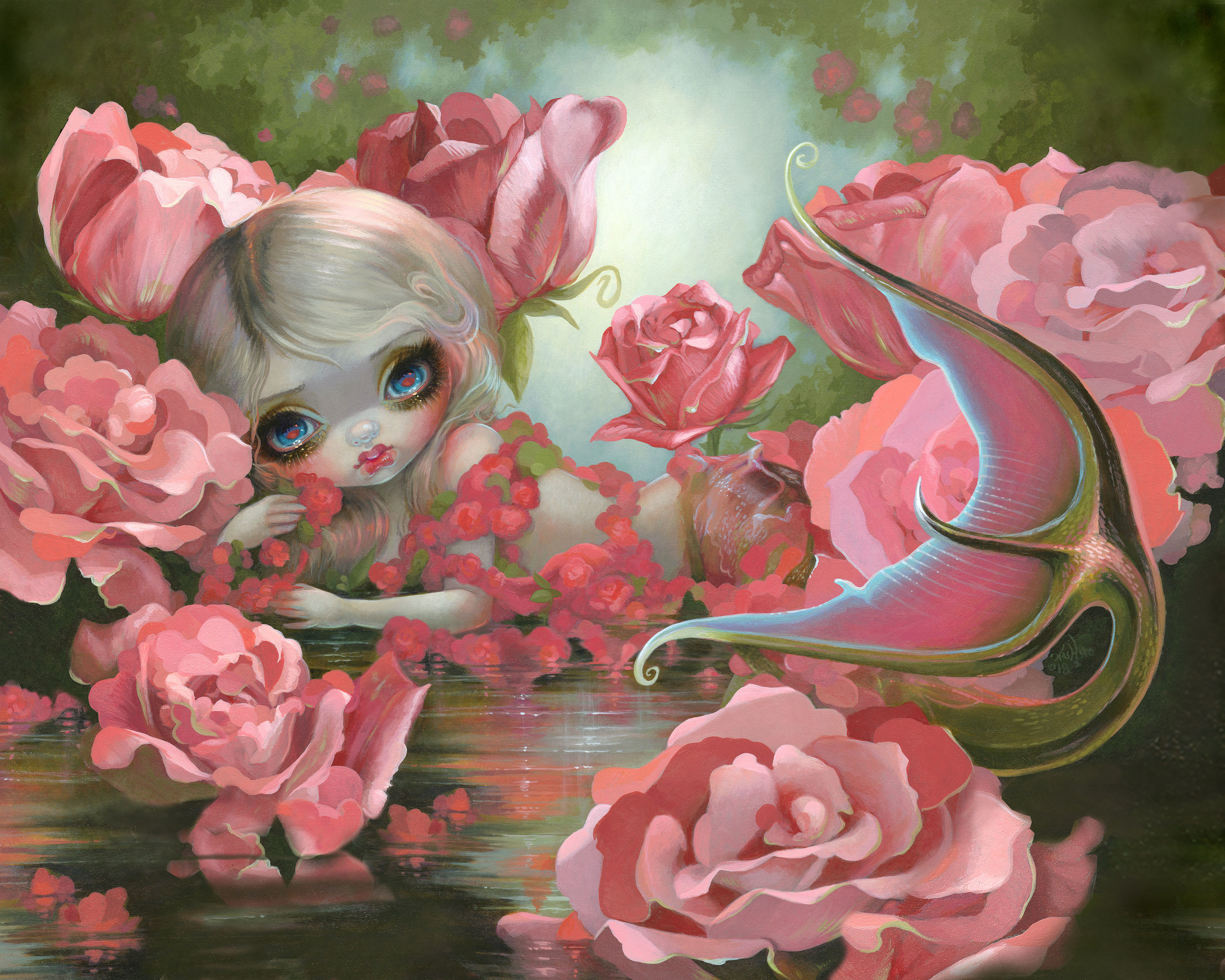 Mermaid With Rose.jpg