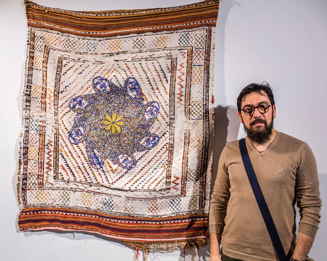 FAP TerTiary Winner Mohsen Meysami.Images courtesy of Victoria University. Photographer: Shuttermain