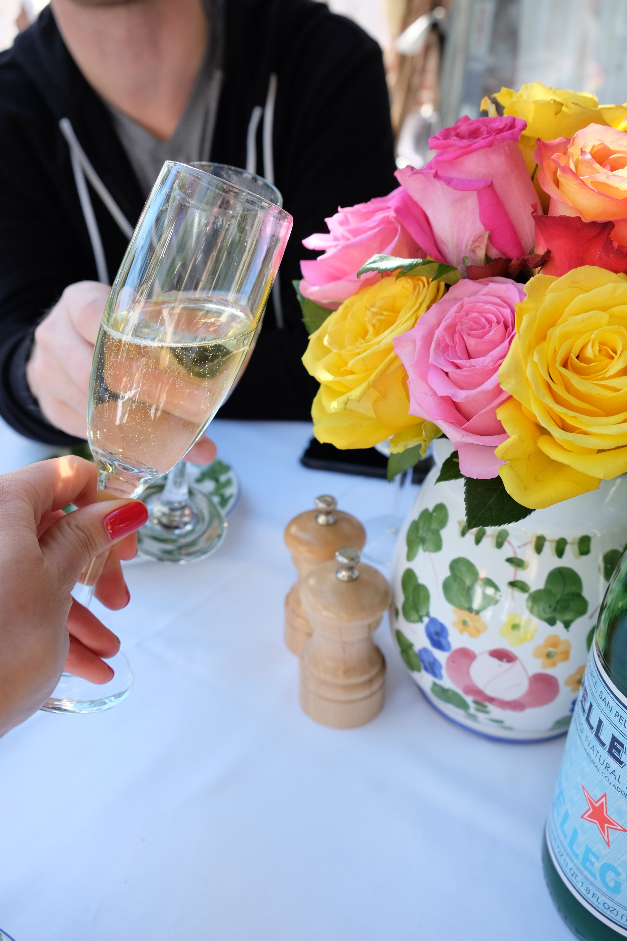 Anniversary Brunch at the ivy in la