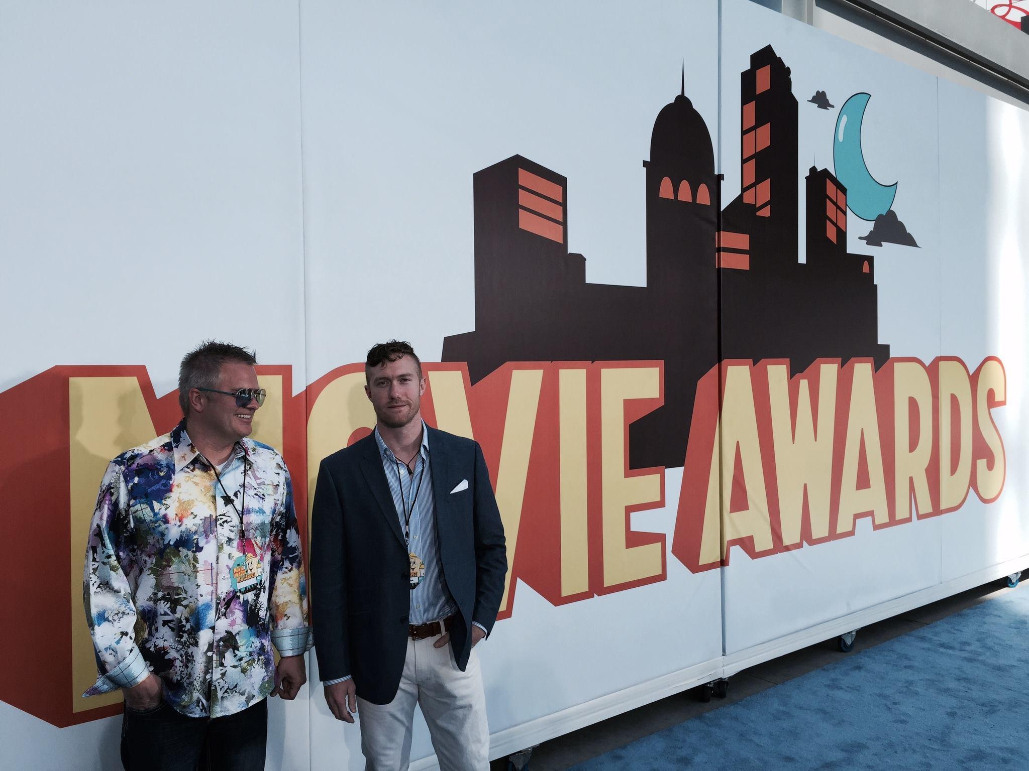 "MTV Movie Awards ""Blue Carpet"" experience with delta"