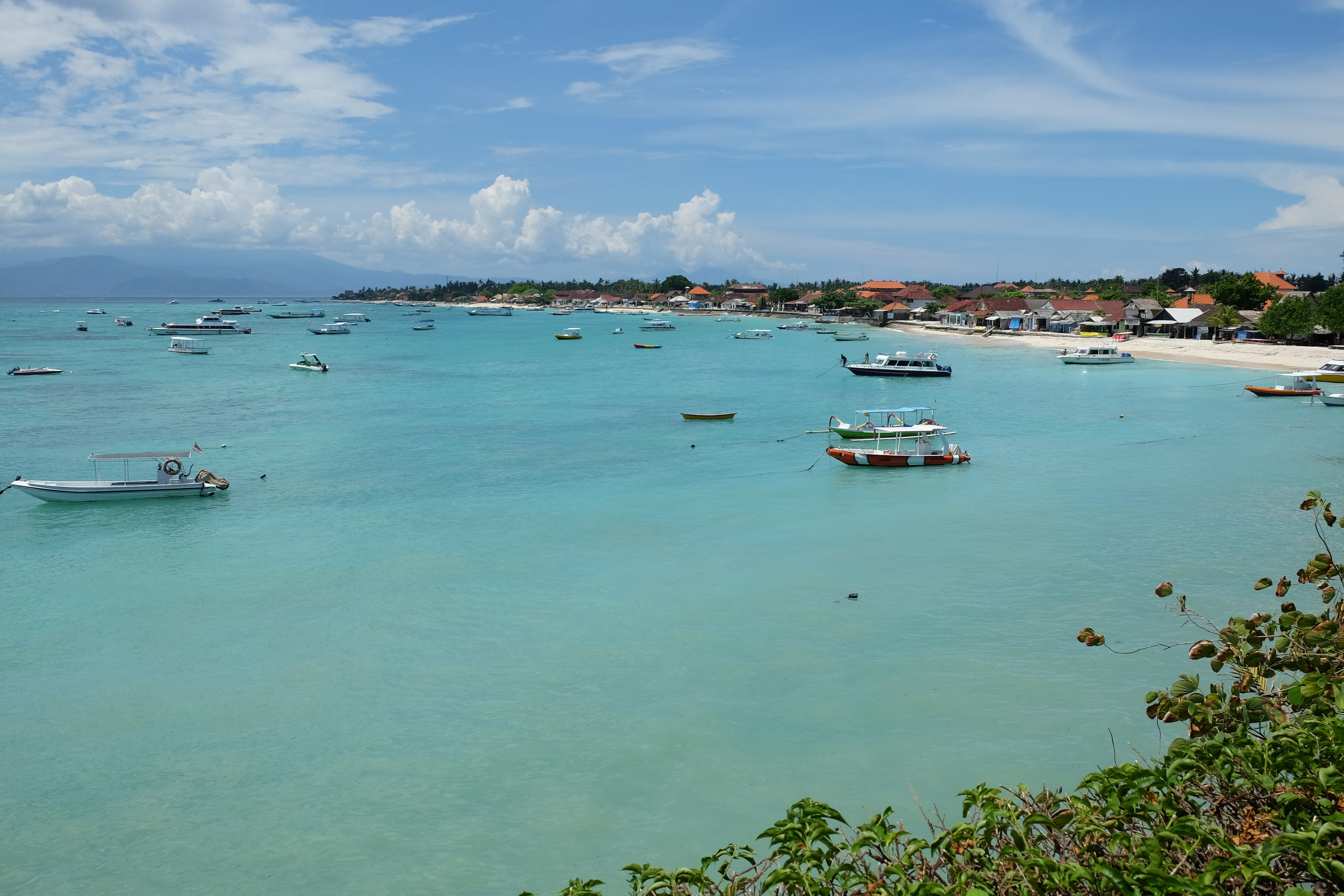 Nusa Lembongan island just 30 minute ferry ride from Bali