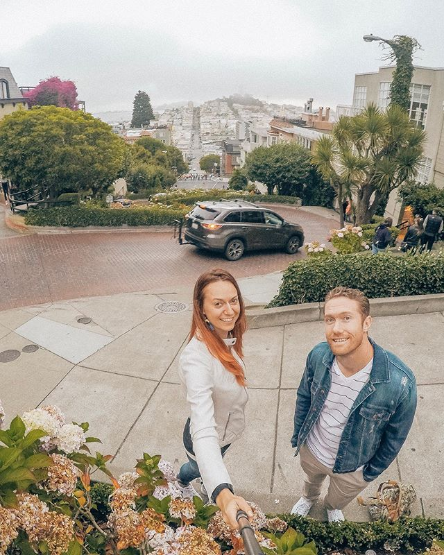 San Francisco is like the perfect date. April 25th. Not too hot and not too cold, all you need is a light jacket. #sanfrancisco #sanfran . . . . #travelwithlove #earthcouples #travel #travelgram #igtravel #travelblog #gorgeousplace  #mywherever #goldengate #streetsofsf #onlyinsf #citybythebay #instalike #sf  #unionsquaresf #creativetravelcouples #travelrogether #themoderndayexplorer #travelingcouple #bucketlistcouple #travelwithus #neverstopexploring #bucketlist #instatravel #travelhacks #traveladvice #travelfreedom