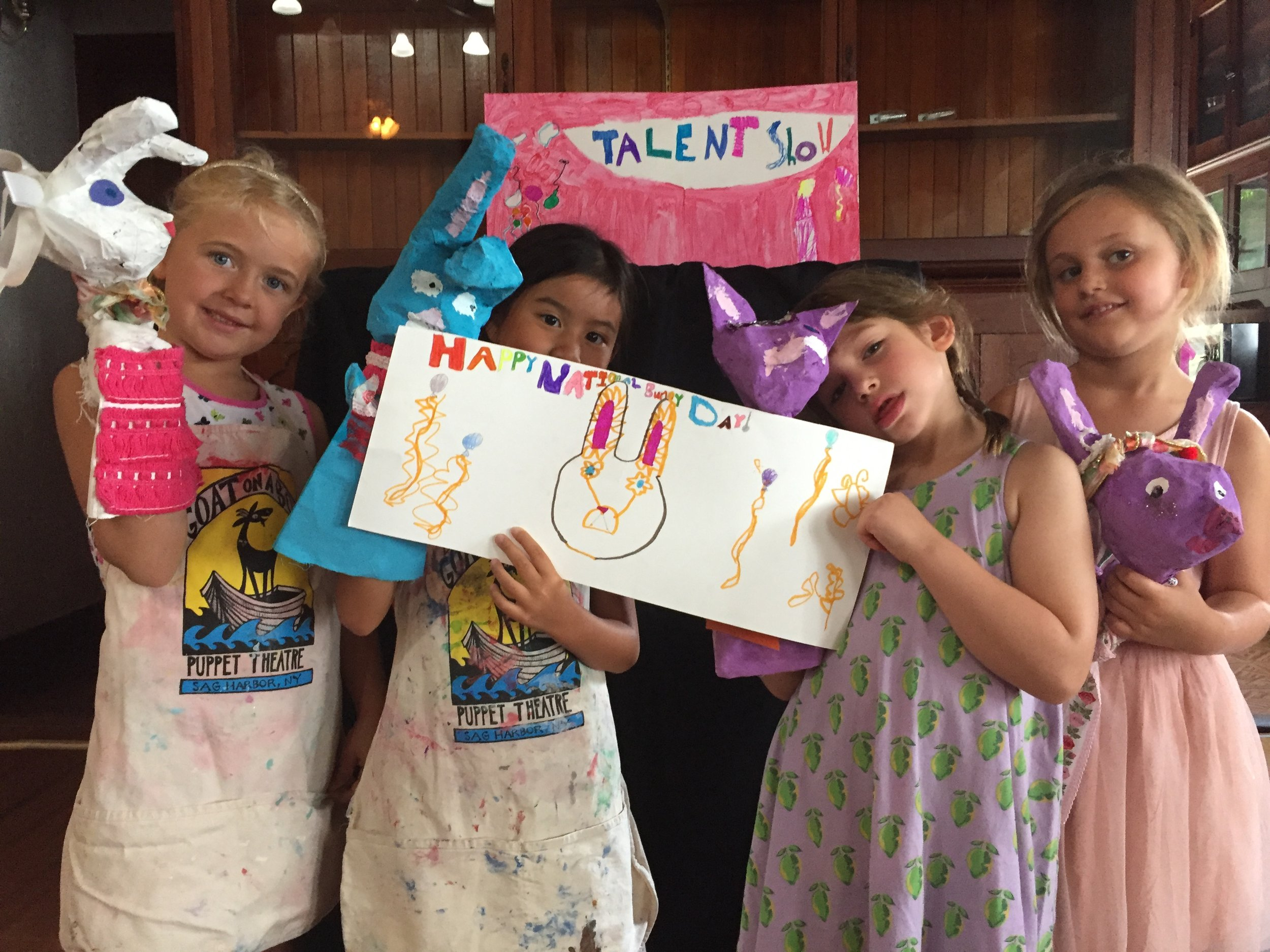 Puppet Making Workshops for Kids