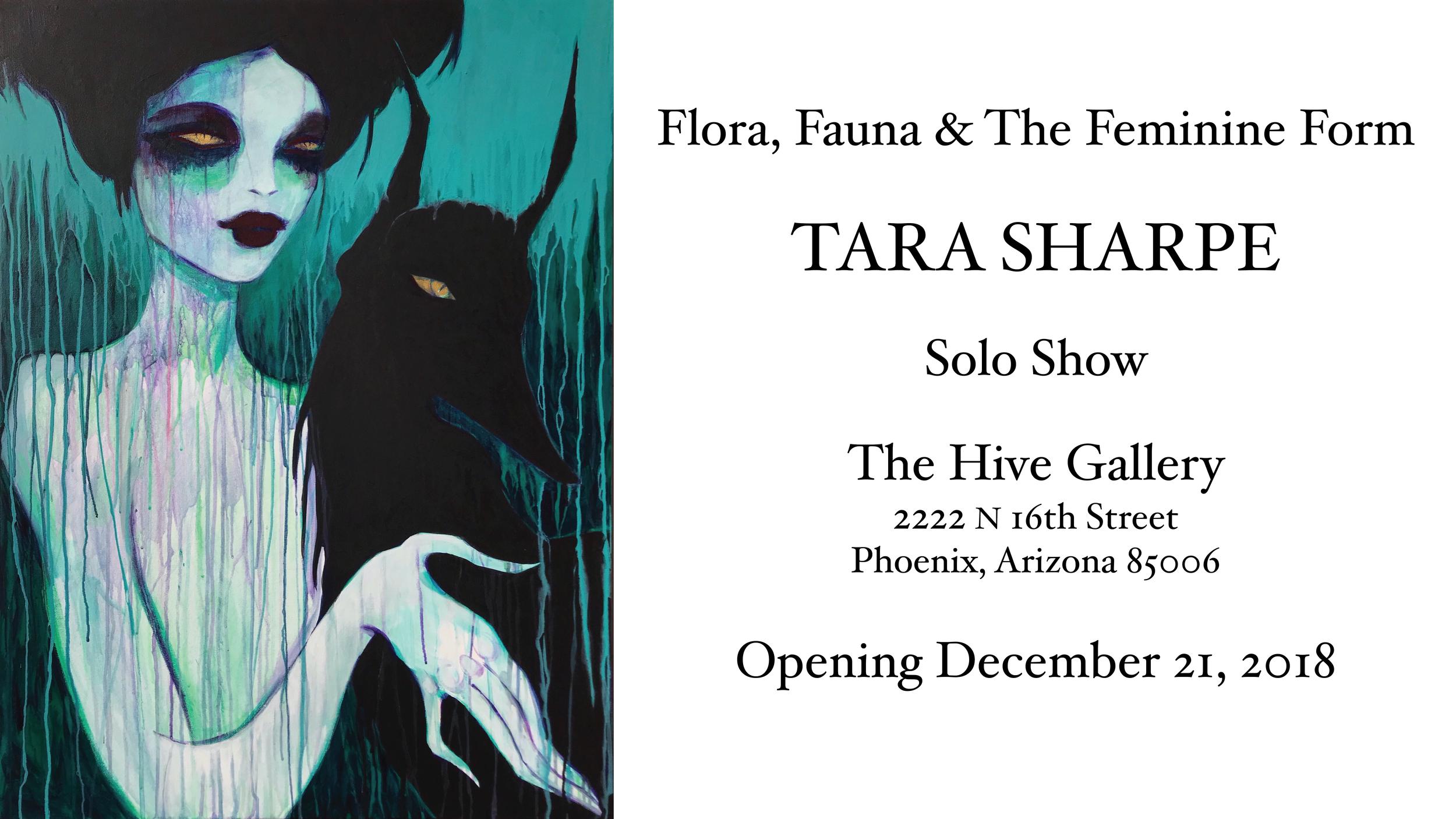 """The Enchantment of Twilight (Origin)"" Tara Sharpe acrylic on canvas 30"" x 40"""