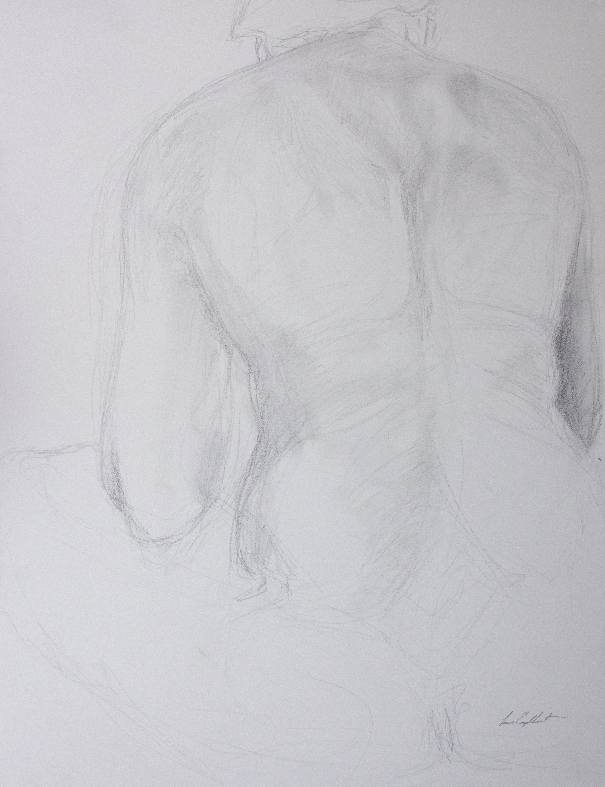 Cross-legged Back Study