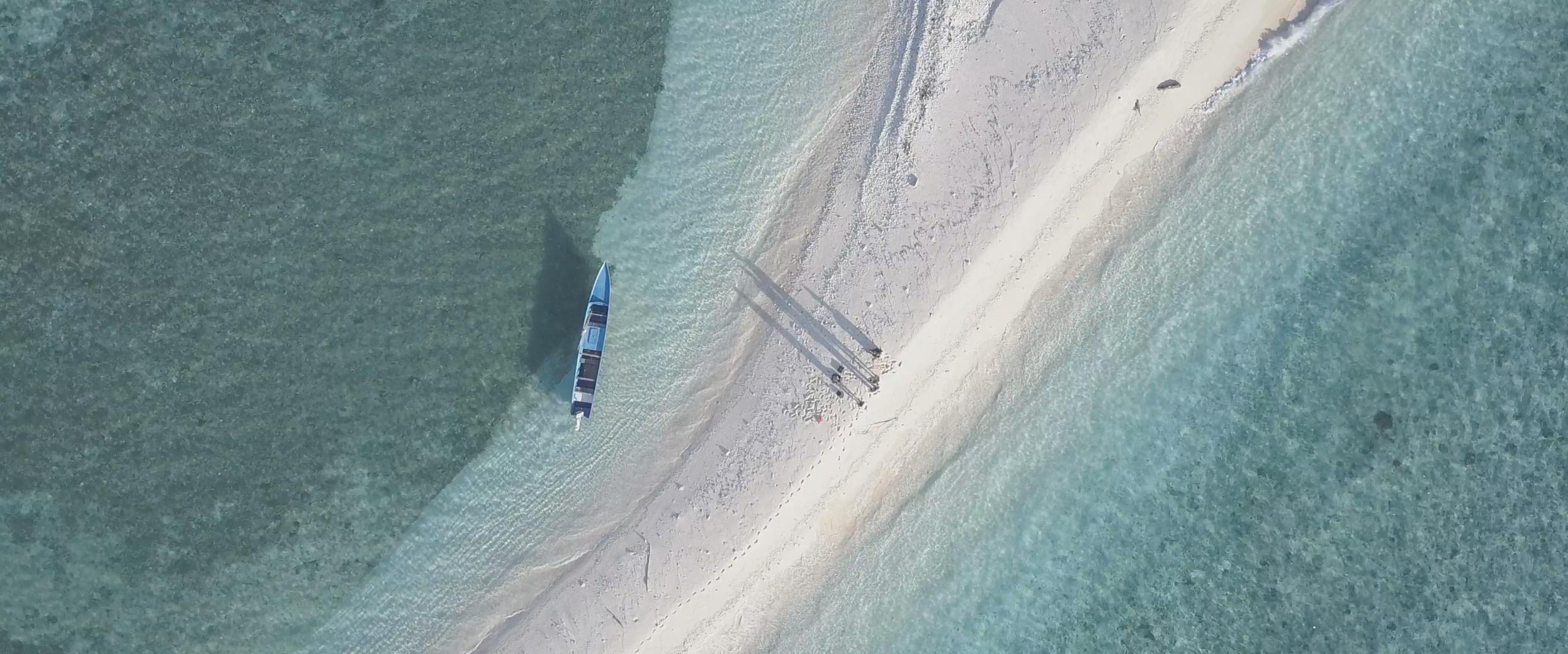 Production shot at Nailaka, Banda Island. April 2017. Photo by Alexandre Girardeau.
