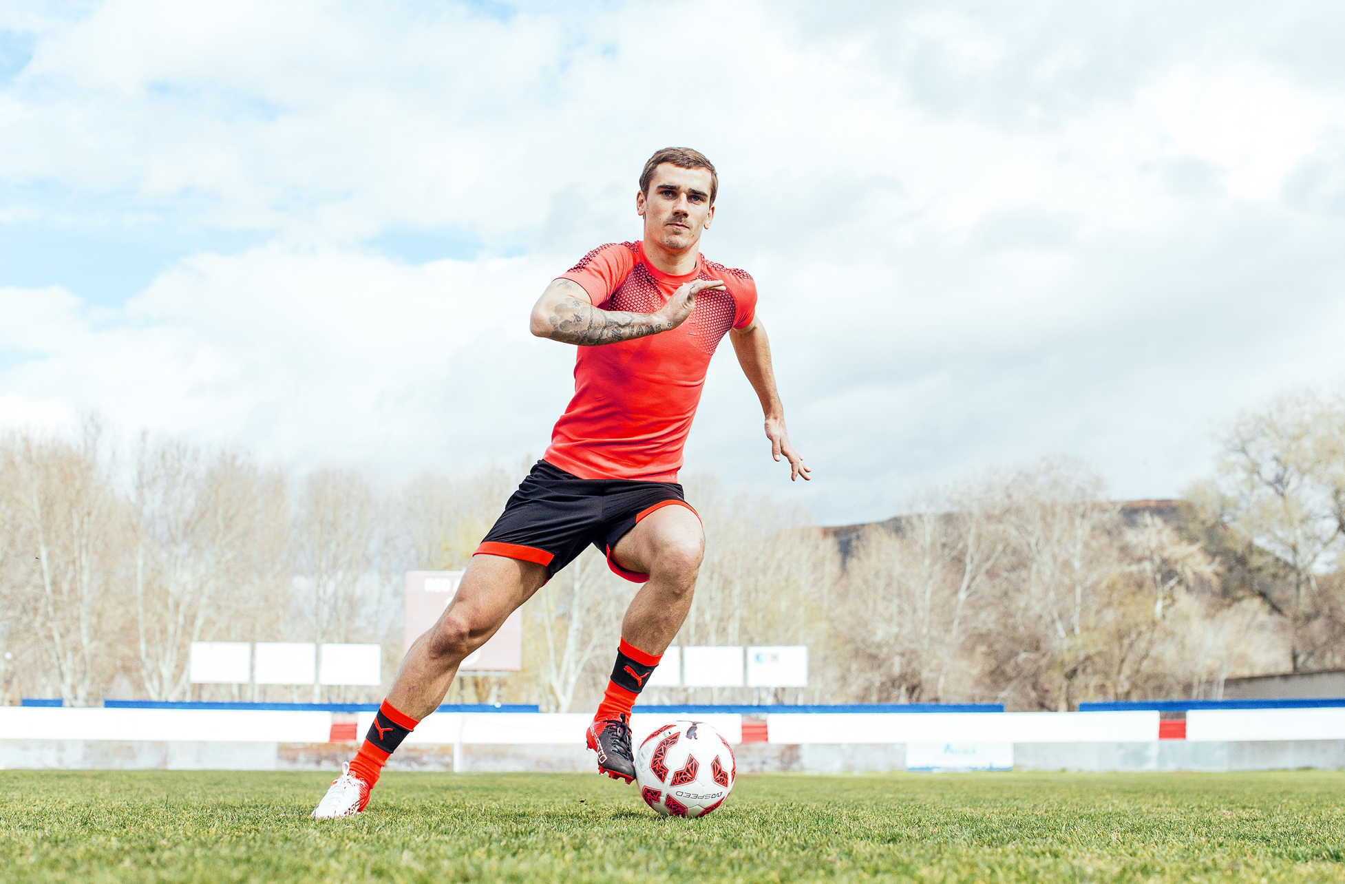 After a stunning Euro's Griezmann will be looking to kick on in his new kicks!