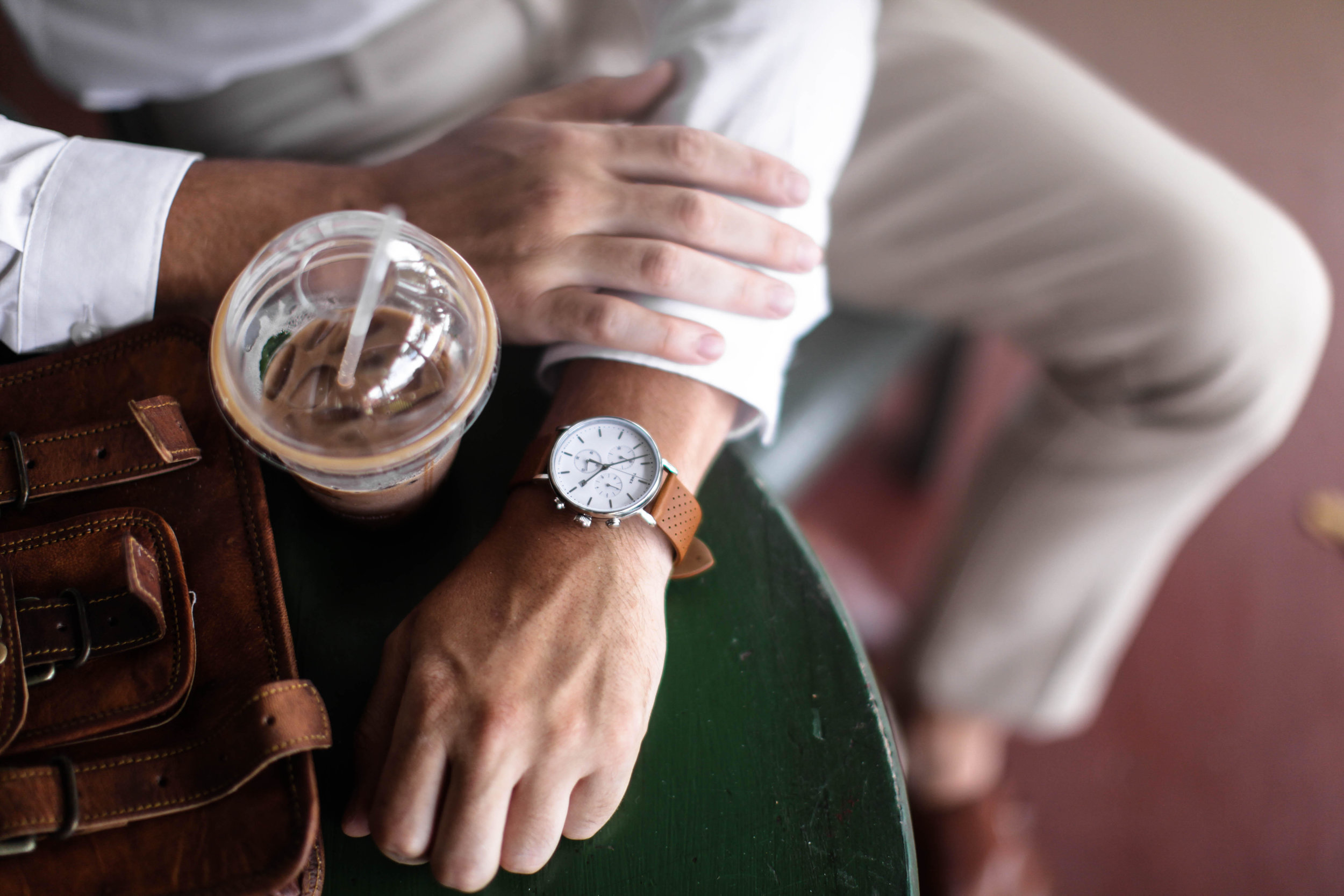 Try new angles & experiment constantly. // For Timex Watches featured on saltshine.us