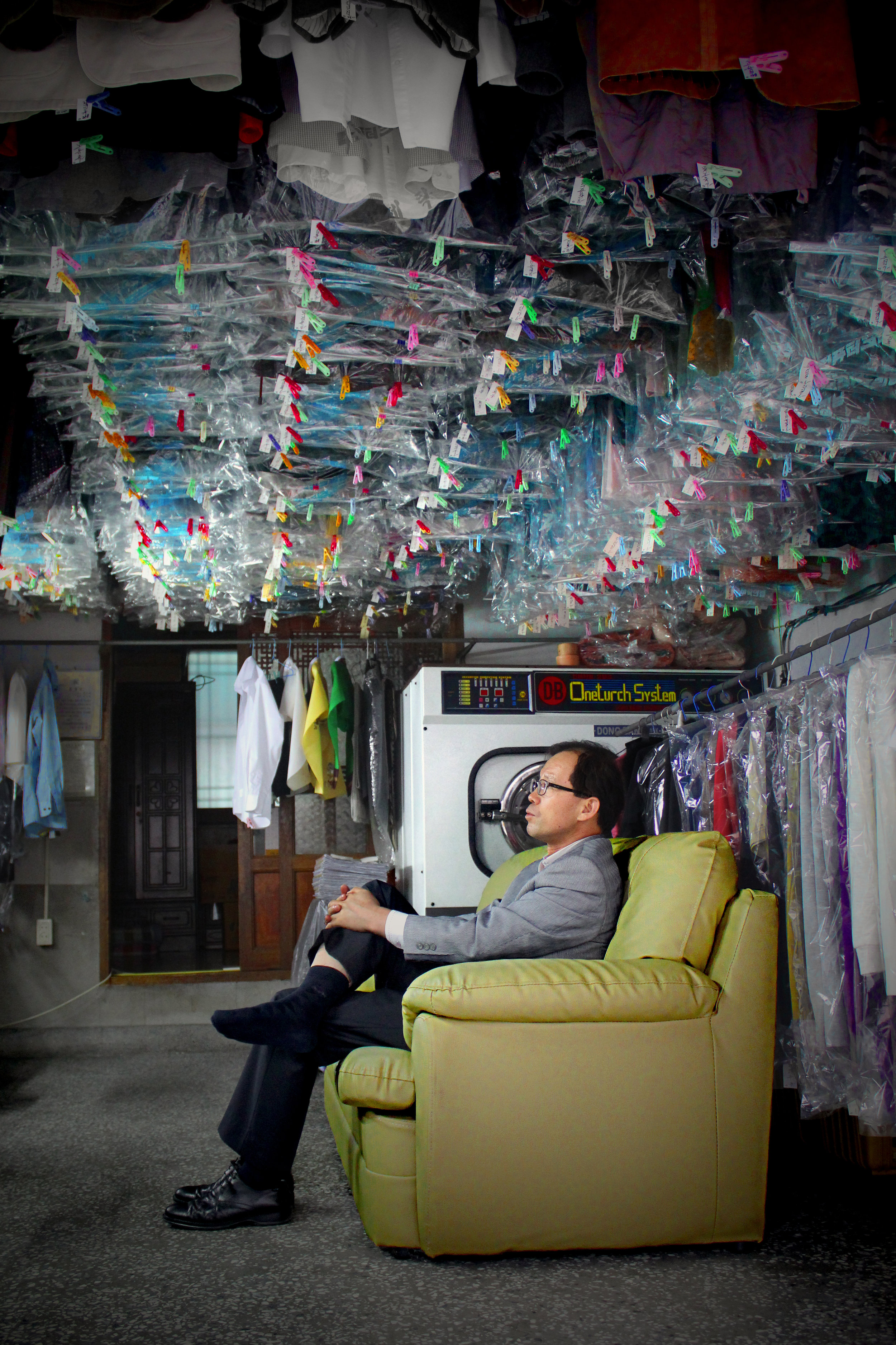 LAUNDERETTE OWNER, CHEONGJU, SOUTH KOREA