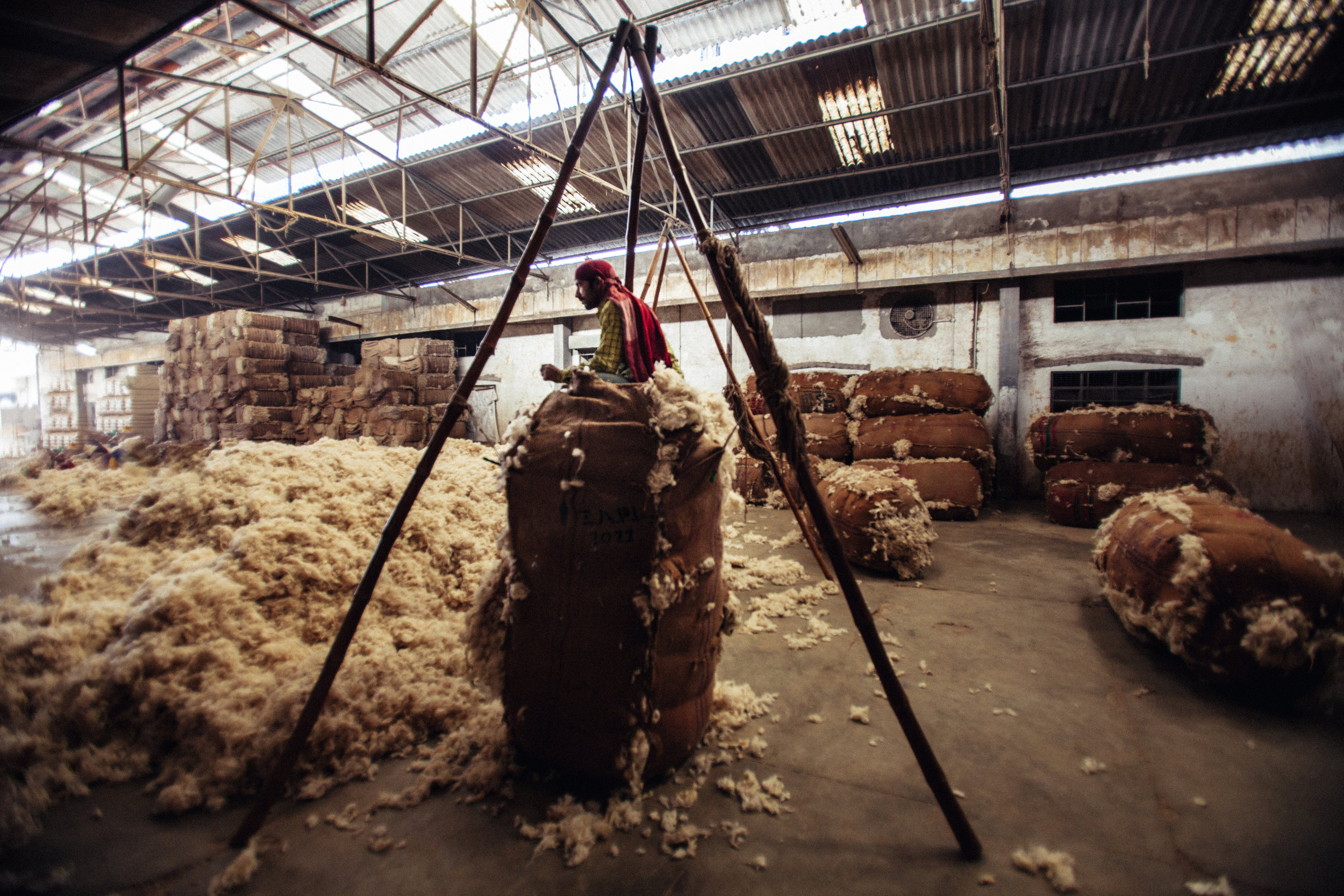 WOOL FACTORY, PANIPAT, INDIA