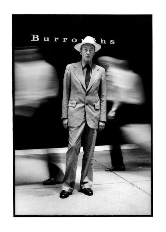 Retrato de Burroughs por Malanga