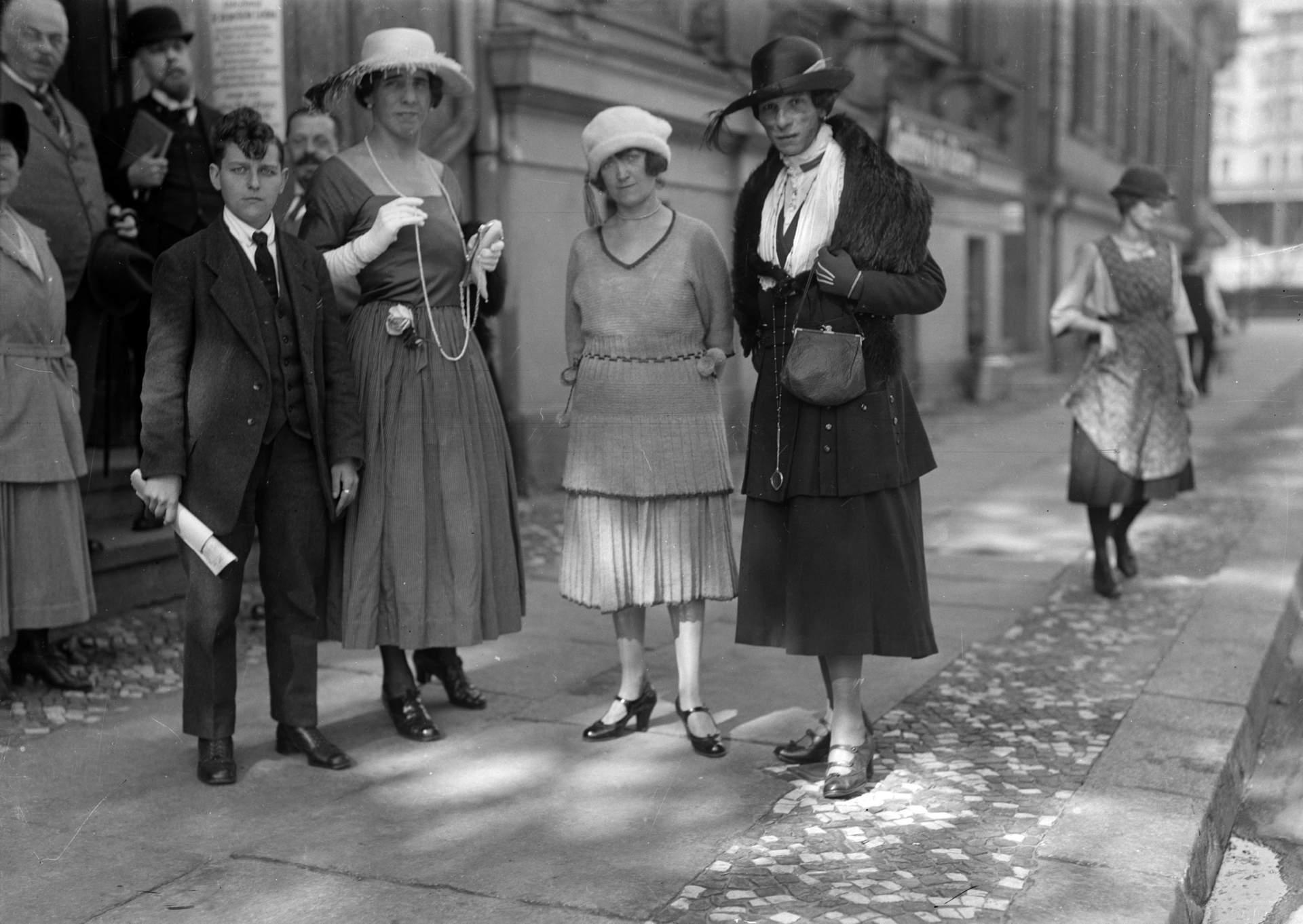 Travestis alemanes en la década de los treinta
