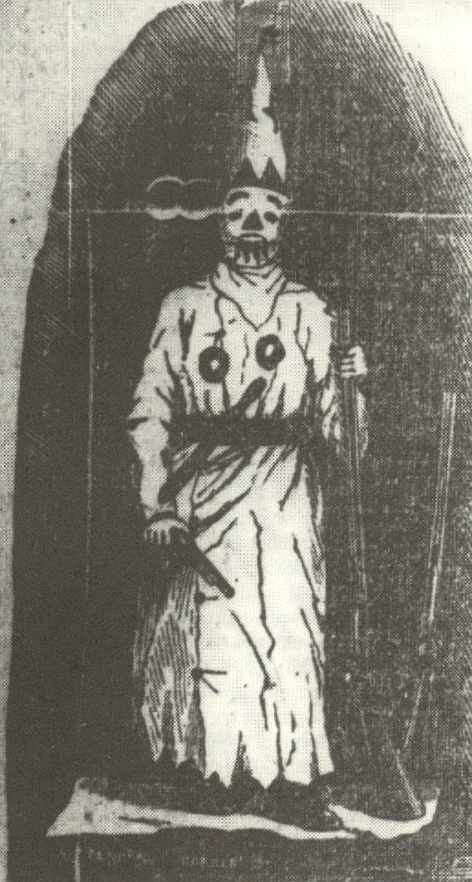 Ilustración del aspecto del grupo en sus orígenes