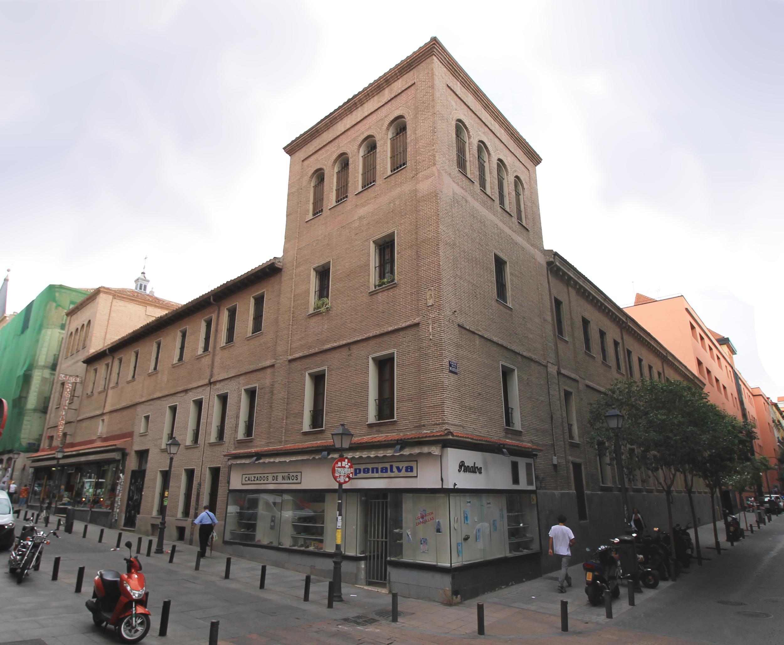 Convento de San Plácido, supuestamente visitado en secreto por Felipe IV