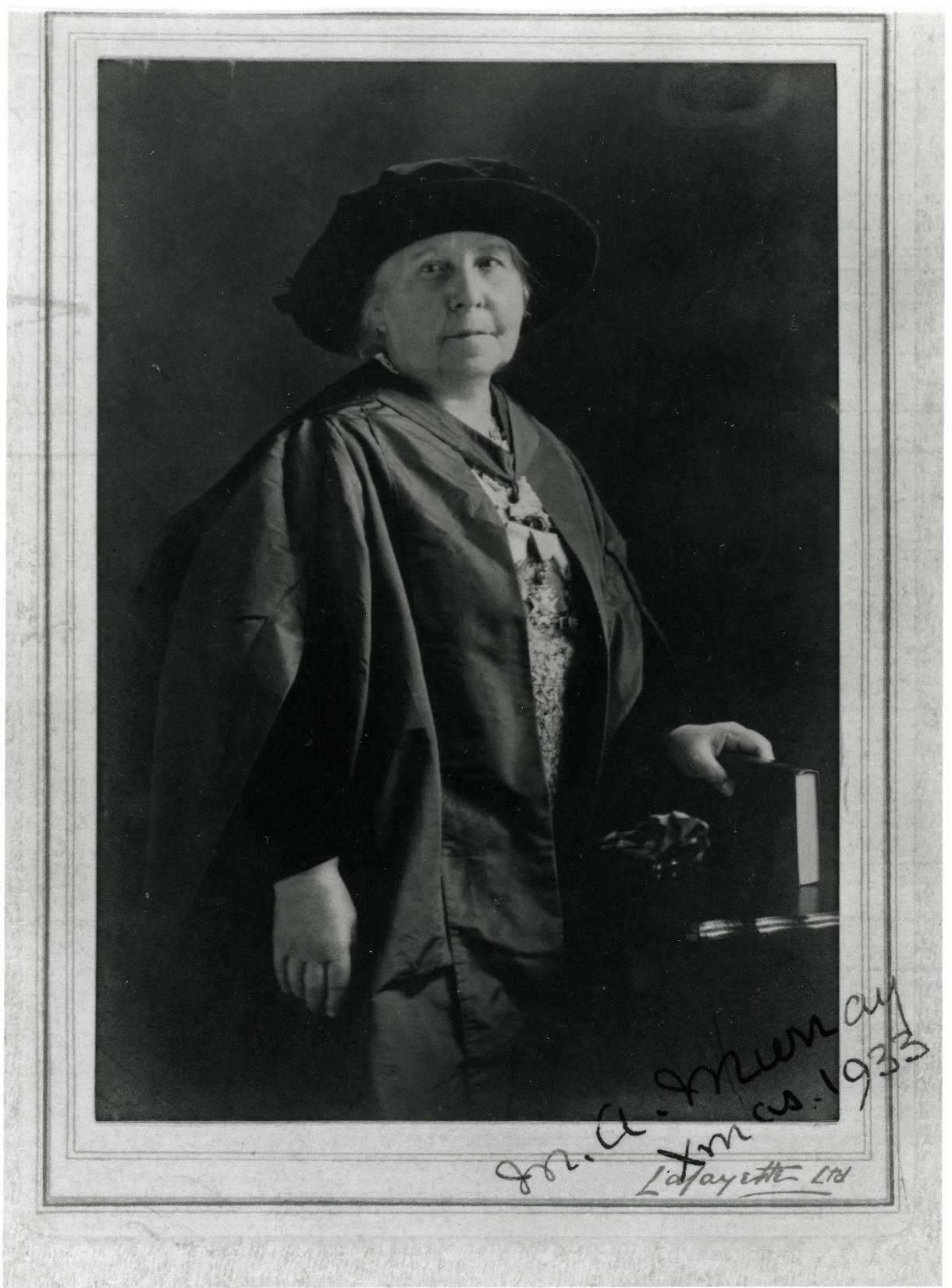 Margaret Murray en 1933