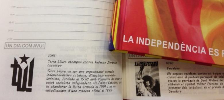 Una agenda independentista refleja en «Un día como hoy» el atentado contra Losantos