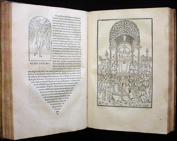 Manuscrito original de  El sueño de Polifilo