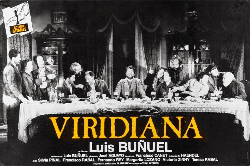Cartel original de  Viridiana