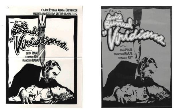 Carteles censurados de Iván Zulueta.