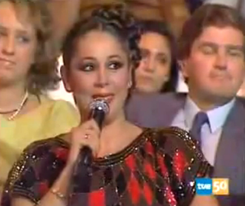 Isabel Pantoja en  Super Star  (1985)