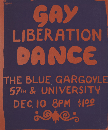 Cartel Gay Liberation Dance. Chicago (sin fecha)