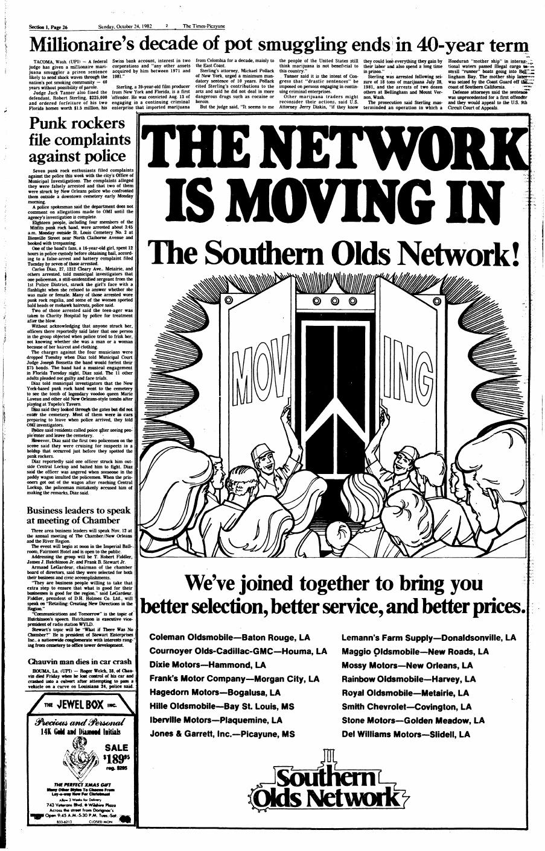 El 24 de octubre, una semana después de las detenciones, el  Times Picayune  vuelve a hablar de lo sucedido