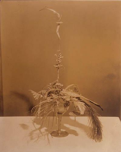Elsa von Freytag-Loringhoven, Portrait of Marcel Duchamp  (1920).