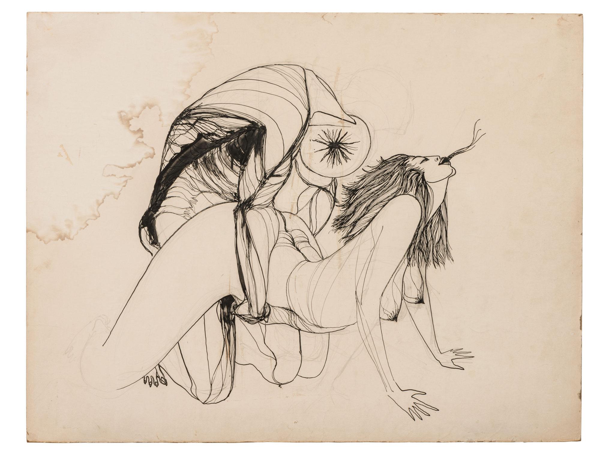 Peyote Vision , Marjorie Cameron (1955)