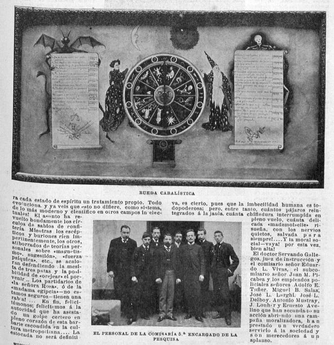 En la parte inferior del artículo puede verse una fotografía de la Brigada