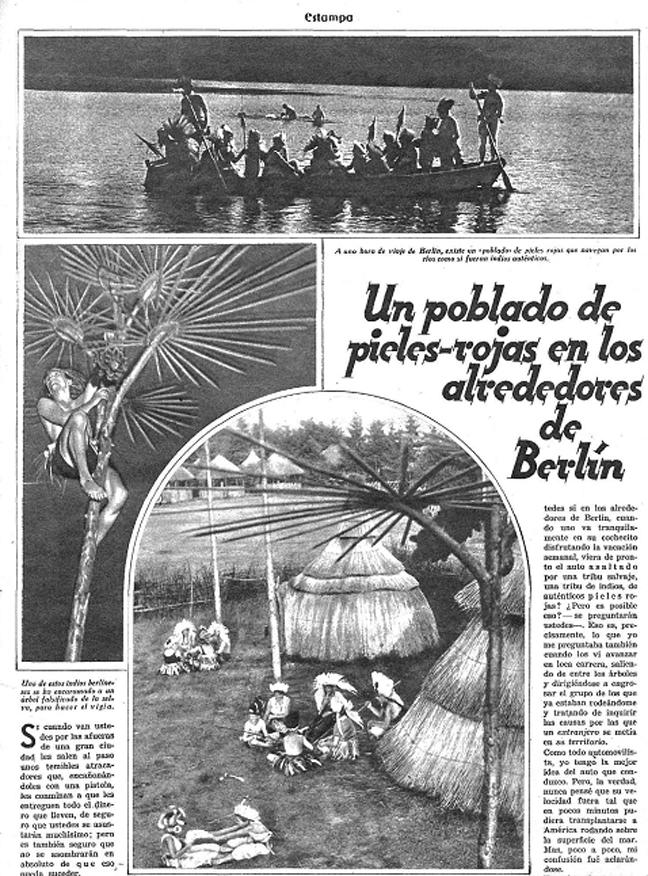Reportaje de la revista  Estampa  (noviembre de 1932)