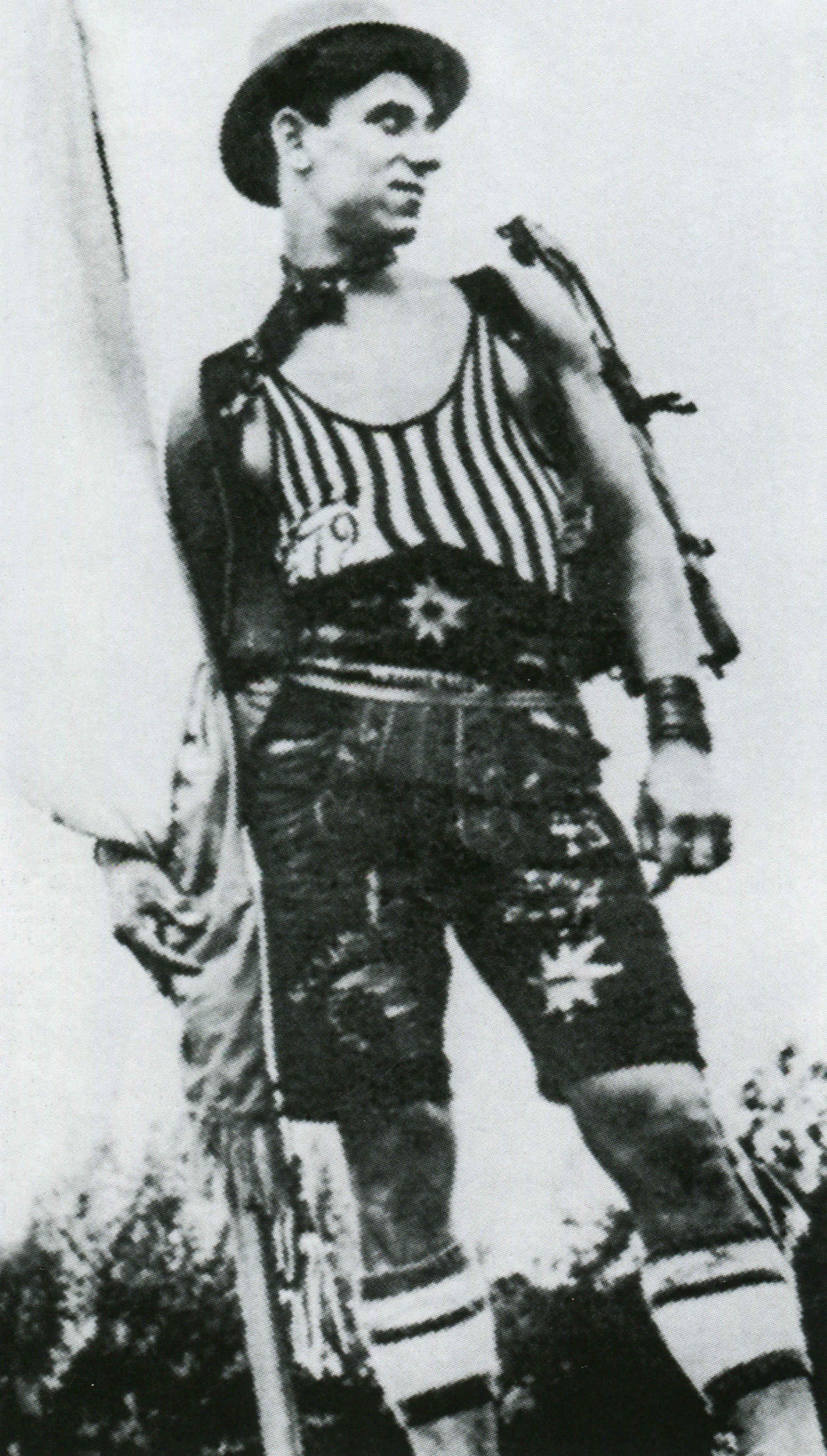 Winnetou, líder de los Wild Boys