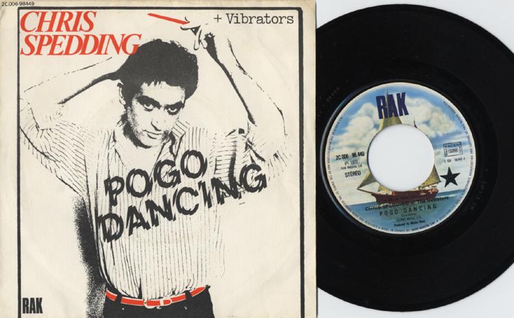 Chris Spedding & The Vibrators, Pogo dancing  (EMI, 1976)