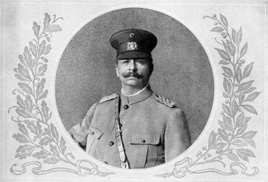 Retrato del general y dictador Juan Vicente Gómez
