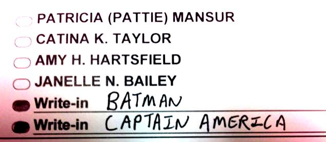 Batman o el Capitán América for President!
