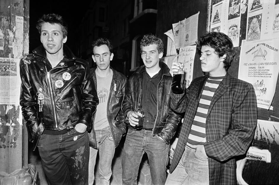 The Teen Idles (enero de 1980)