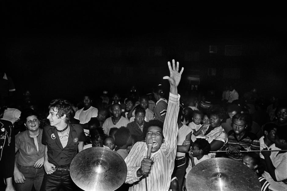 H. R. cantante de Bad Brains (septiembre de 1979)