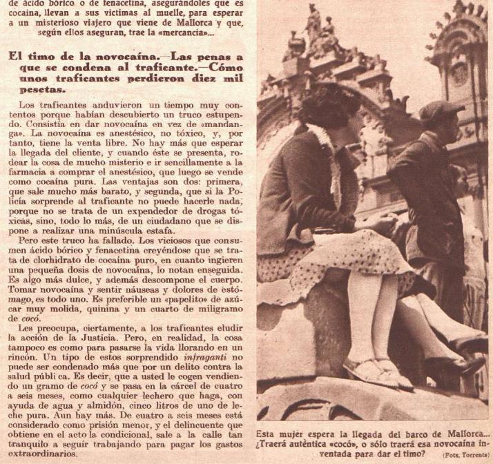 Crónica  y la novocaína (14 de julio de 1935)