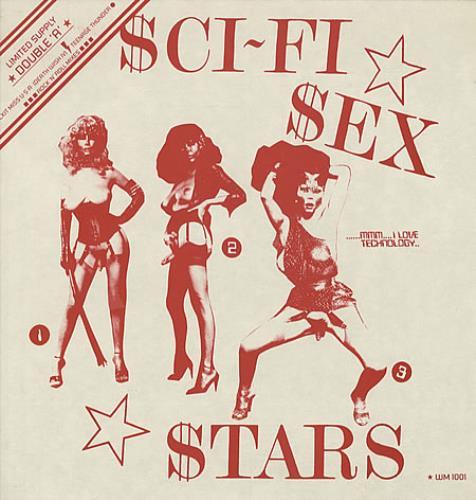 """SCI-FI SEX STARS , 12""""de 1986"""
